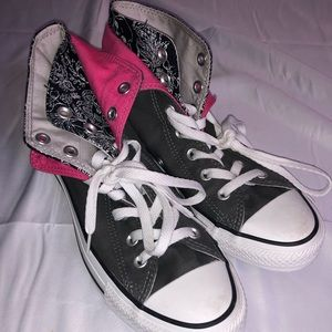 Converse Double Tongue High Top size8